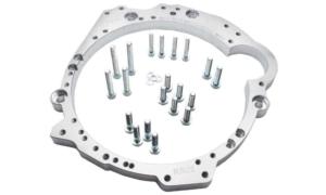 BMW Getriebeadapterplatte RB20 / RB25 / RB26 / RB30 Marke: PMC Motorsport Dieser Umbausatz ermöglicht Ihren RB mit einer BMW Getriebeplatte
