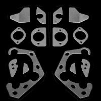 plaques de renfort BMW E36