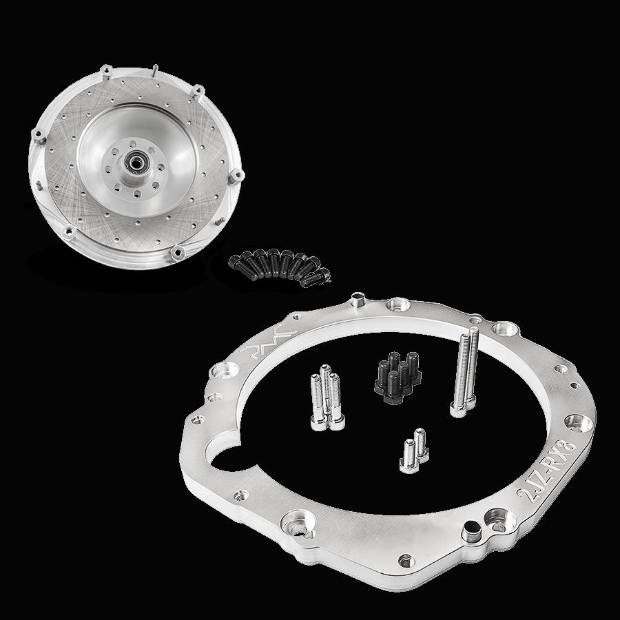 Adapter kit Toyota UZ engine to Mazda RX 8 transmission